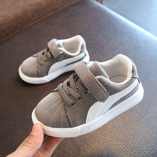 Hot Boys Girl Kids Baby Infant Pram Shoes Sports Trainers Sneakers No-slip Size