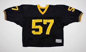 Vente Pas Cher Vtg 1980's Champion 57 Black Mesh Football Jersey Size Xl Une Grande VariéTé De ModèLes