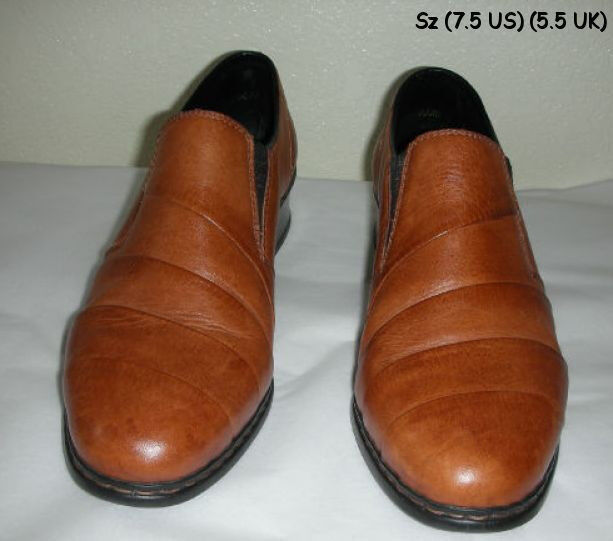Fabulous RIEKER Anti Stress (5.5 Größe 7.5 U.S. (5.5 Stress UK) Leder Schuhes Near Mint a62748