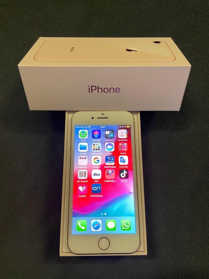 iPhone 8, 64 GB, guld