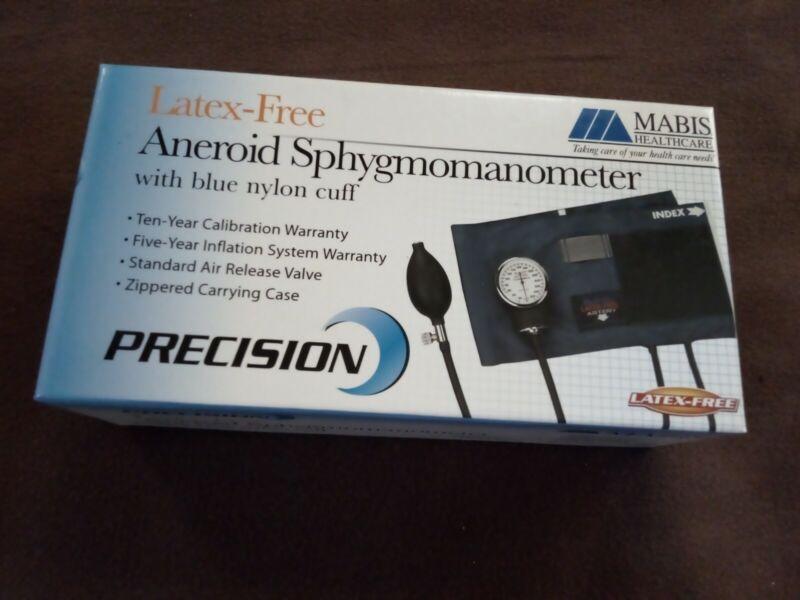 Large Adult Size Mabis Precision Blood Pressure Kit Aneroid Sphygmomanometer