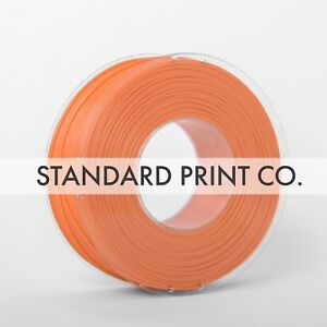 Limpid In Sight Standard Print Co Sensible 3d Printer Filament Pla Orange 1.75mm 1kg 200g