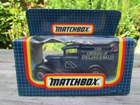MATCHBOX MB-38 FORD MODEL A 'THE CHEESES OF ENGLAND & WALES' BOXED