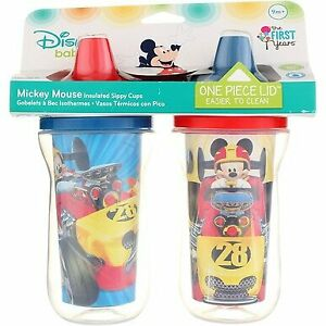 The-First-Years-Disney-Insulated-Sippy-Cup-Mickey-Mouse-9-oz-2-Ct