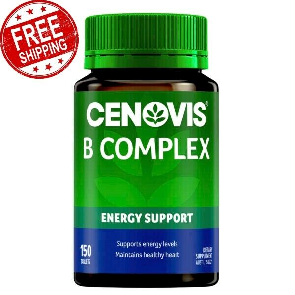 Cenovis B Complex Support Nervous System Energy Levels Function 150 Tablets