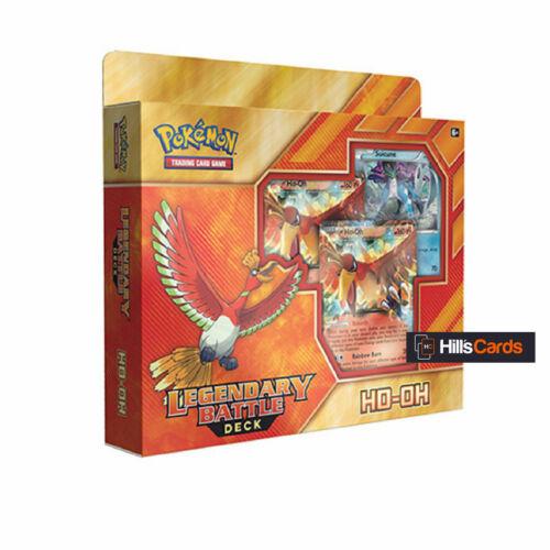 Trading Card Game Ho-Oh EX Pokemon TCG Legendary Battle Deck