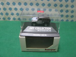 Vintage-MERCEDES-300-GE-034-Mountain-034-H0-1-87-Herpa-Art-Collection