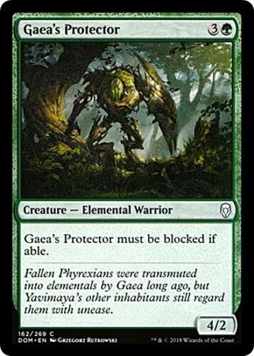 4 GAEA/'S PROTECTOR ~mtg NM Dominaria Com x4