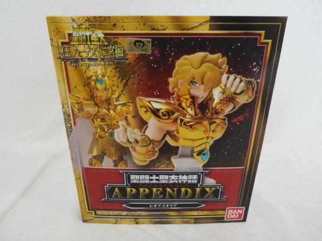Saint Seiya Saint Cloth Myth Appendix Leo Aioria Figure by Bandai