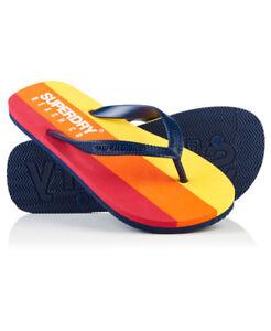New-Mens-Superdry-Sleek-Flip-Flops-Richest-Navy