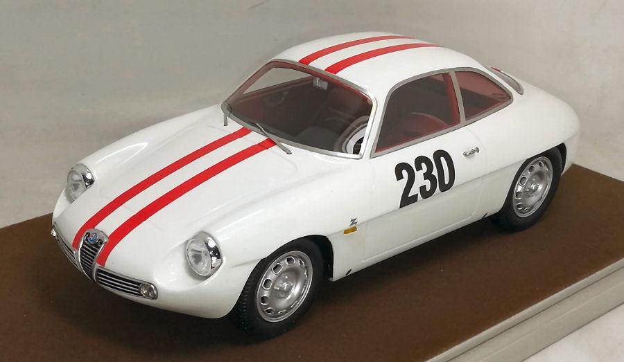 Alfa Romeo Giulietta Sz  230 Friburgo   Schauinsland 1962 Fischbaber 1 18 Model