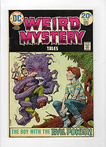 Weird-Mystery-Tales-9-Dec-1973-Jan-1974-DC-Very-Fine
