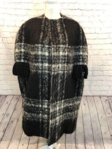 Nan Duskin Vintage Wool Coat Cape Blanket No Size