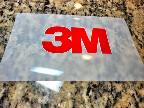 10 Pack 13in x 19in sheets 3M Scotchcal 8520 matte vinyl overlaminate