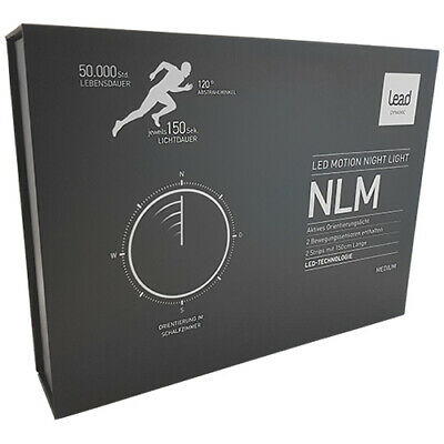 2x Led Streifen 1,5m Mit Bewegungssensor Bewegungsmelder Nachtlicht Lead Energy Letzter Stil