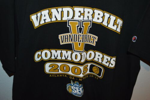 Champion Vanderbilt University Throwback 2005 Bask
