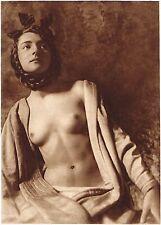 1920's Vintage German Female Nude Model Art Deco F. Smith Photo Gravure Print