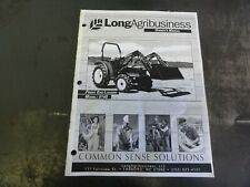 Long 5140 Front Loader Owners Manual