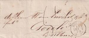 Brief 13 dec 1870 Boxtel (tweeletter) naar Tilburg (tweeletter)