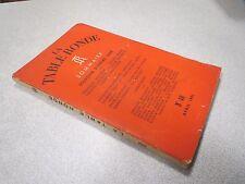 LA TABLE RONDE N° 40 AVRIL 1951 FRANCOIS MAURIAC JULIEN GREEN MAULNIER *