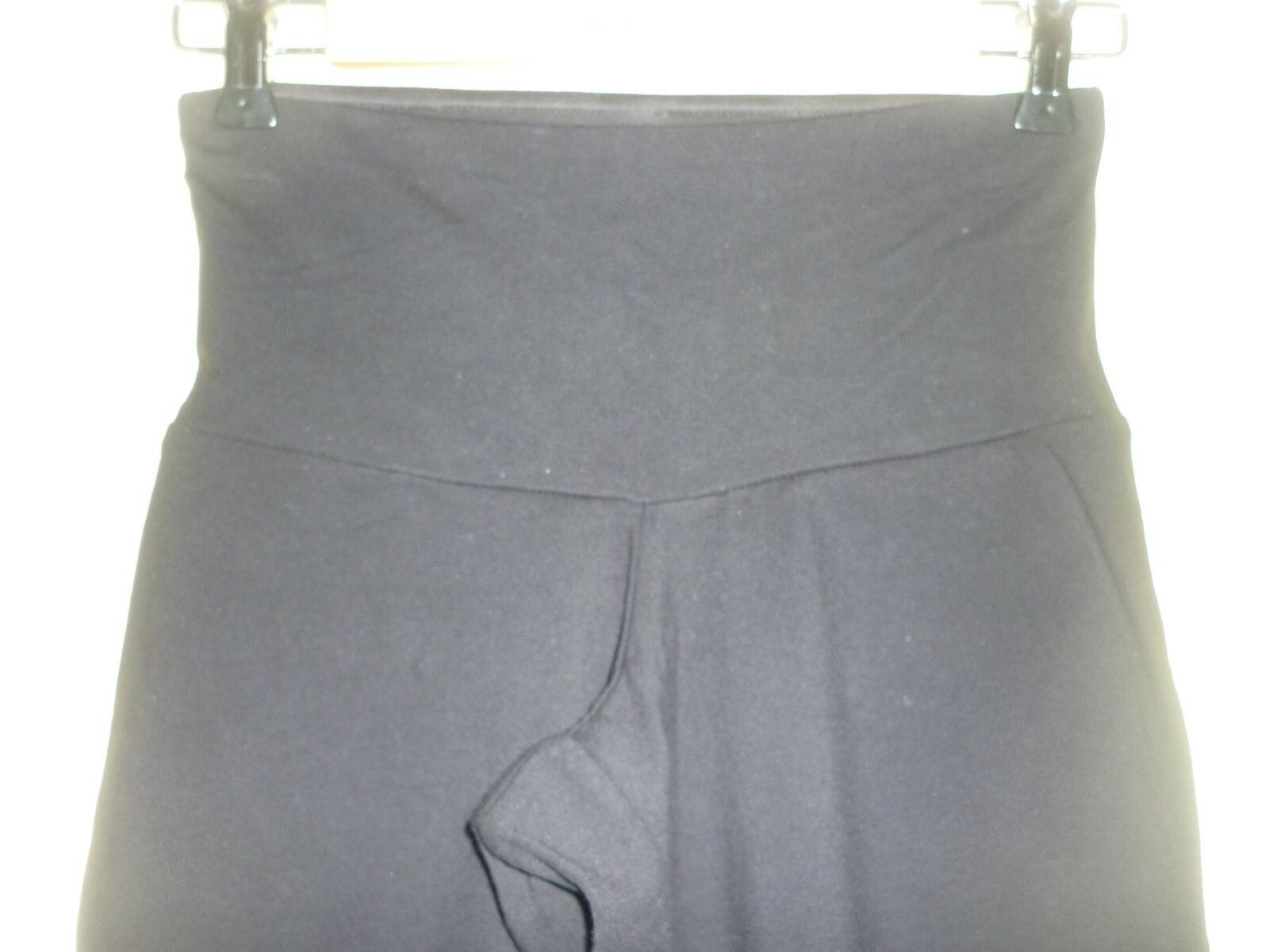 Black 'VIP Lounge' knee length trousers Star by Spanx size S, UK 10 BNWOT