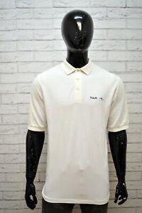 Polo-RALPH-LAUREN-Maglia-Uomo-Taglia-L-Shirt-Chemise-homme-Bianca-Cotone-Man-039-s
