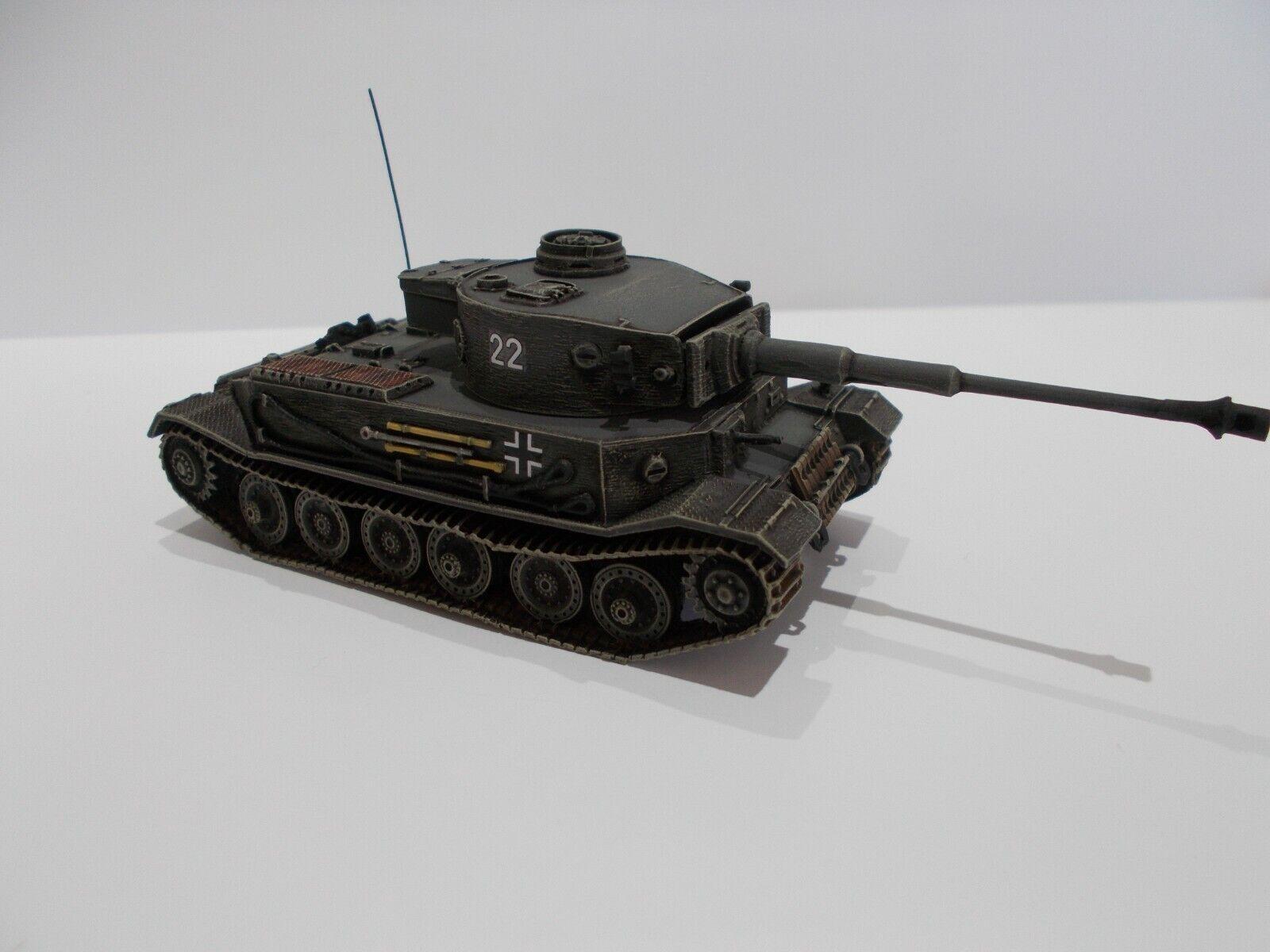 1 76 Segunda Guerra Mundial construido & Pintado alemán vk 45.01 (P) Pesado Tanque