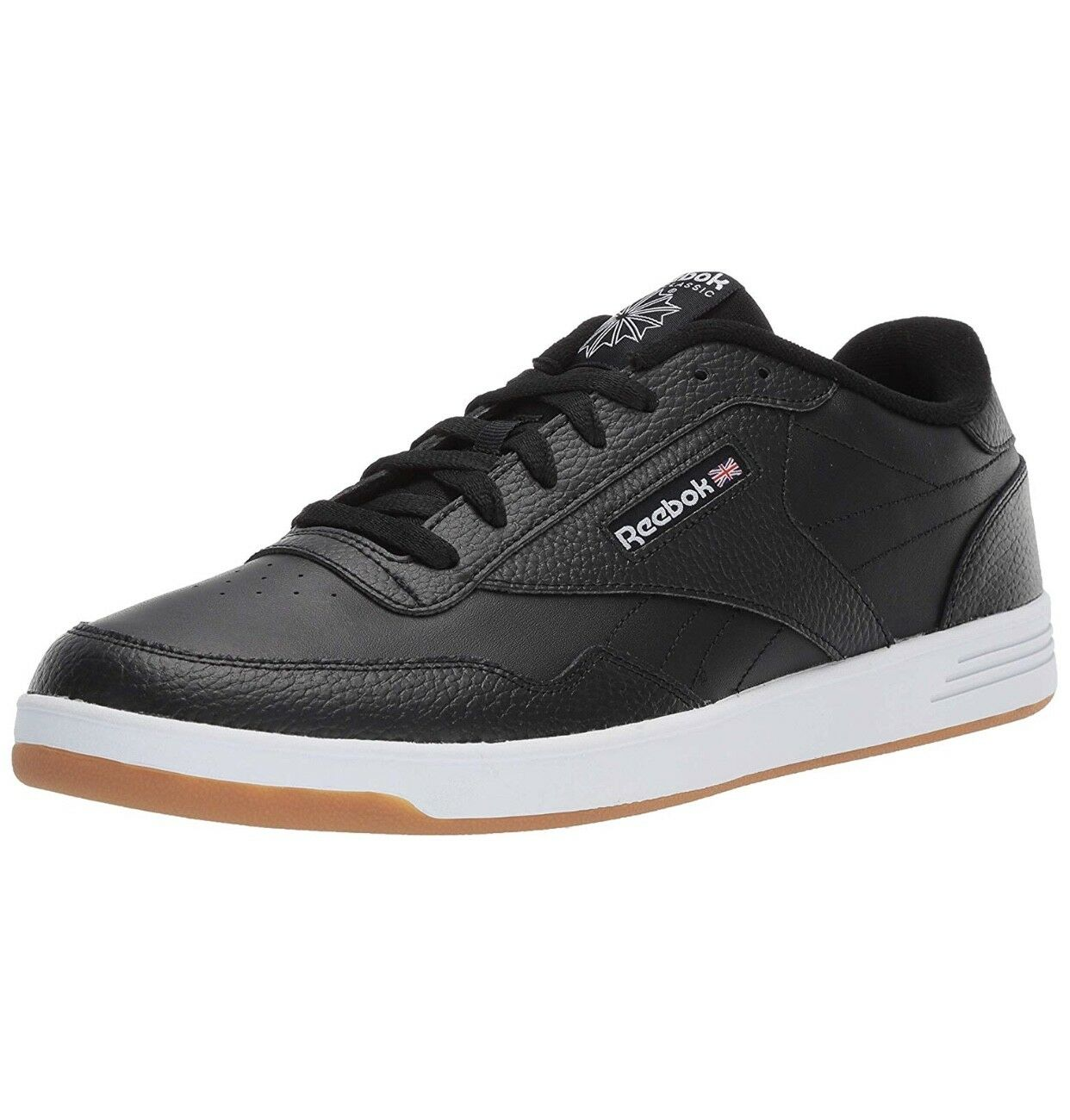 REEBOK CLUB MENT BLACK WHITE DV3788 SNEAKER MEN SHOES S-C