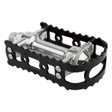 "MKS LAMBDA 9//16/"" 3-Piece Crank Bicycle Pedal BMX MTB BIke Silver or Black"