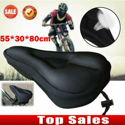 Bike EXTRA Comfort Soft Gel Pad Comfy Cushion Saddle Seat Cover Bicycle Cycle L1