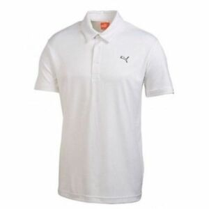 5aeeb7106f658 Details about New Puma Junior Tech Golf Polo - 565817 Color White Pick Size