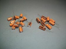 Mixed Lot of 110 Vishay Sprague Capacitor 150uF 16V / 47uF 63V - Craft Jewelry