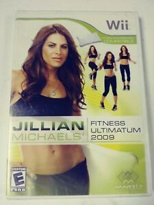 Jillian-Michaels-Wii-Fitness-Ultimatum-2009-Gym-Workout-Factory-Sealed
