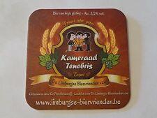Beer Coaster ~ De Proefbrouwerij Kameraad Tenebris Tripel Ale ~ Hijfte, Belgium