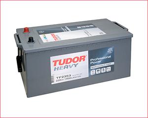 Bateria Tudor Tf2353 12v 235ah 1300a Izq . Camiones Autobuses Tf 2353 12v235ah