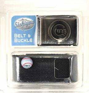 Chicago Cubs Belt and Buckle - Brand New - Up To 46 In Waist