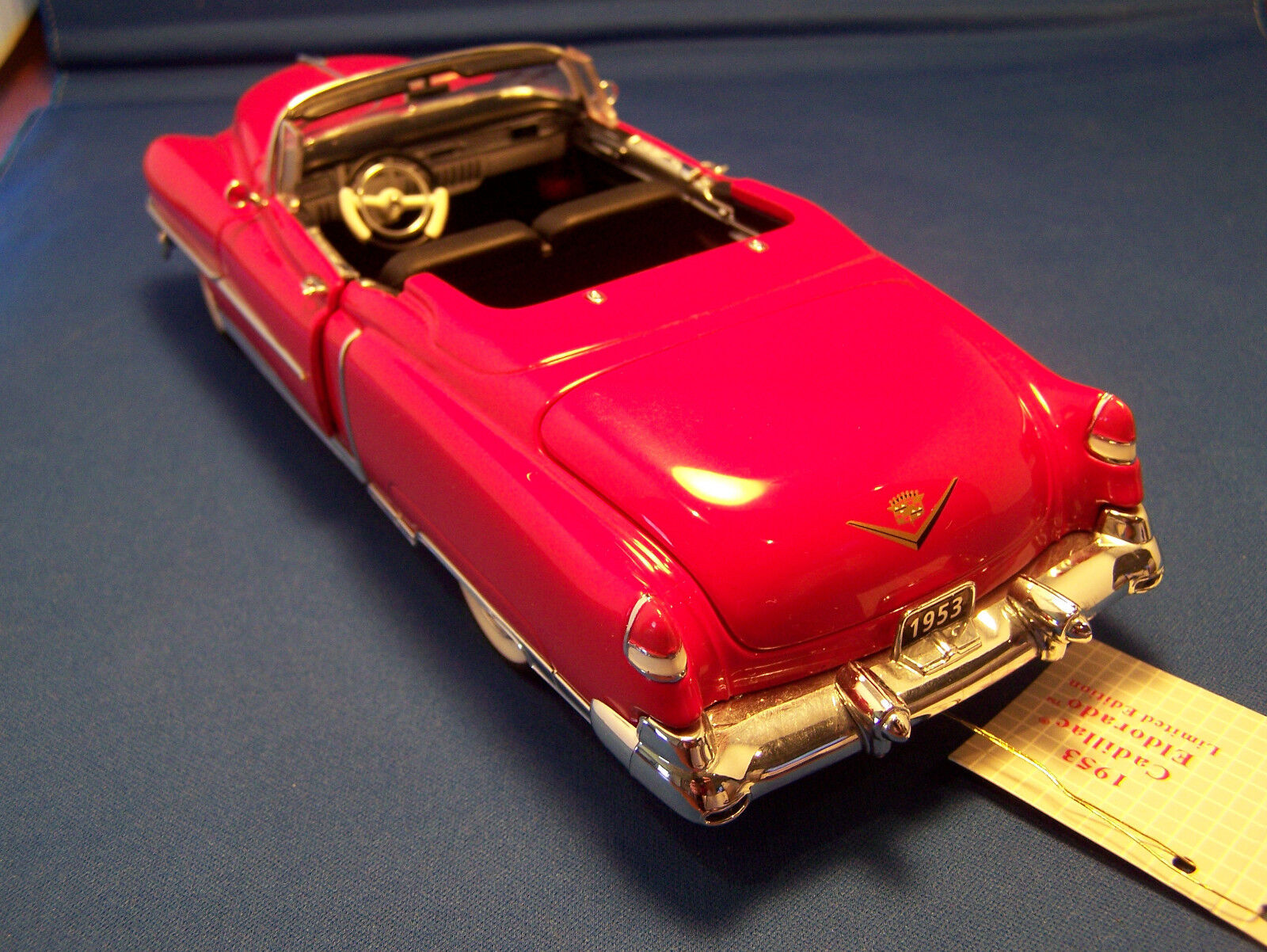 FRANKLIN MINT 1953  RED CADILLAC CADILLAC CADILLAC ELDORADO CONgreenIBLE MINT IN THE BOX LIMITED eab90c