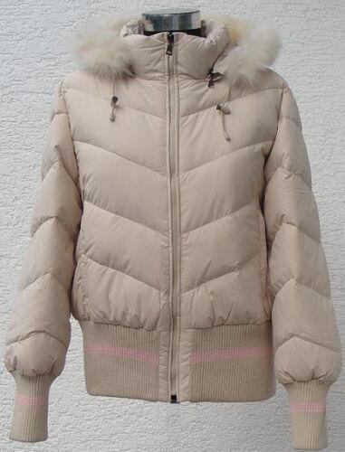 PIUMINO Giubbino Giacca invernale per donna//ragazza in beige loro Outdoor bl2098a