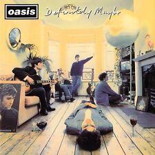 Oasis DEFINITELY MAYBE Debut Album 180g +MP3s GATEFOLD New Sealed Vinyl 2 LP