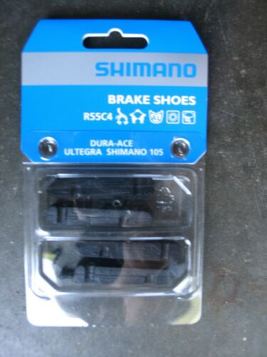 F/&R Shimano BR-9000 R55C4 Road Brake Pads Dura-Ace 105 Ultegra