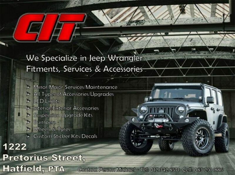 Jeep Wrangler Fitment, Services and Accessories