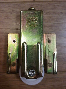 Cox Closet Door Wheel 21 717 21 767 Replacement Mirror Door Wheels Roller Ebay