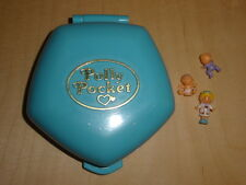 Polly Pocket mini Polly in the Nursery 100 % Complete  Baby