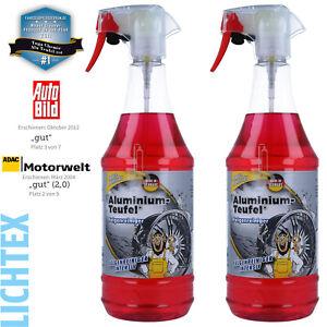 2L TUGA ALUMINIUM-TEUFEL Intensiv Felgenreiniger Spezial Felgenpflege Autopflege