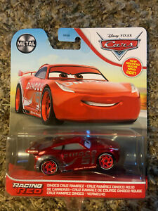 DISNEY PIXAR CARS 2021 METAL RACING RED DINOCO CRUZ RAMIREZ