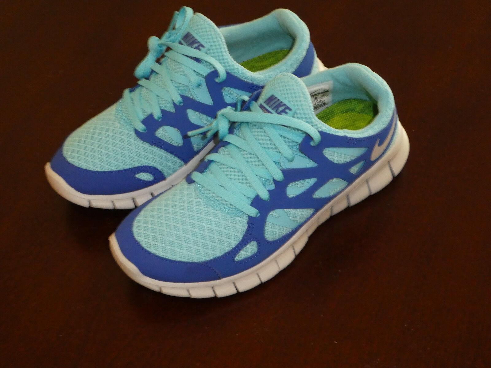 Nike womens Free Run 2 shoes sneakers new 443816 444 blue