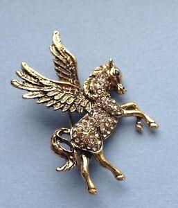Pegasus Winged Horse Pin Badge