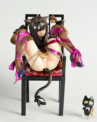 Planet of the Cats Chu Kana Cat and Chairs Embrace R Sexy Figure Statue 3D Model