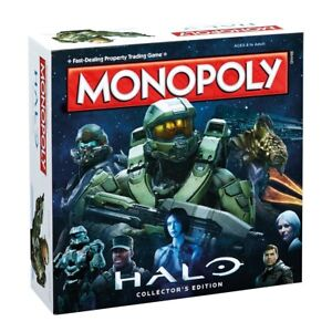 Monopoly-Halo-Collector-039-s-Edition-English-Boardgame-Board-Game