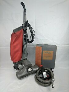 Kirby-Model-1-HD-Heritage-Upright-Vacuum-Cleaner-w-Attachments-vintage-as-is